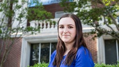May 09, 2018 - Alyssa Hill graduated from the University