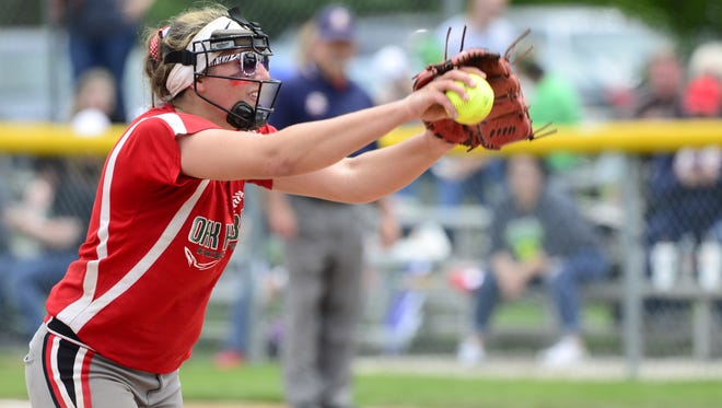 Oak Harbor's Ashley Riley was recognized first-team all-Ohio.