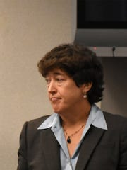 Judge Janeice Martin talks about the courts' role in dealing with mental health and substance abuse issues. Collier's Board of County Commissioners held a workshop this year in the commission chambers to discuss community mental health services.