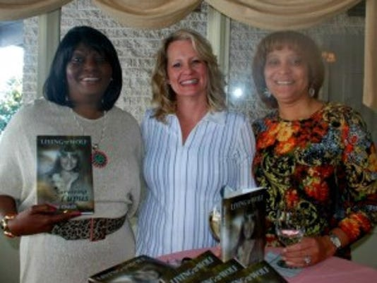 From left, author Liz Shaw-Stabler... (Submitted photo)
