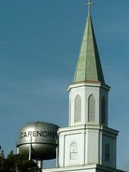 Saint Peter's Roman Catholic Church and water tower