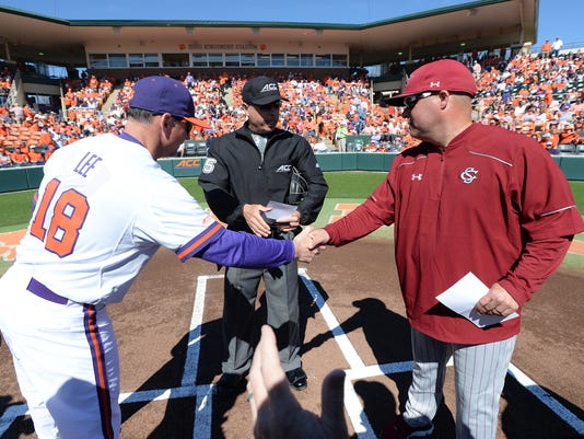Clemson South Carolina baseball