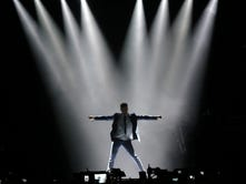 Ricky Martin performs Sunday at the El Paso County Coliseum to a sea of screaming fans as part of his One World Tour 2015.