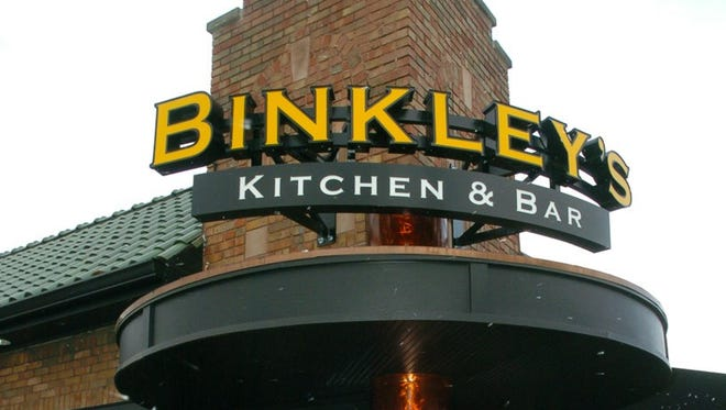 Binkley's Kitchen & Bar is located at 5902 N. College Ave. in Indianapolis.