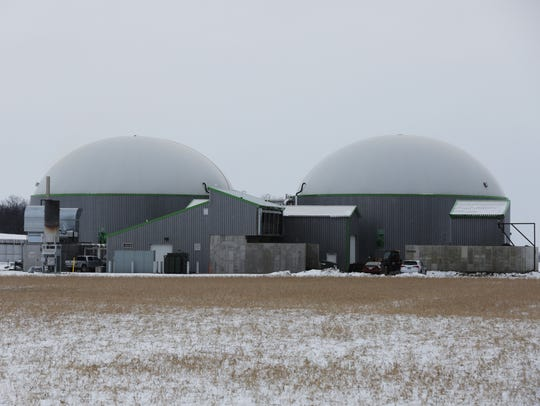The Rosendale Biogas Facility on Fond du Lac County
