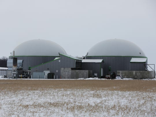 The Rosendale Biogas Facility on Fond du Lac County Highway M is located next to the Rosendale Dairy.