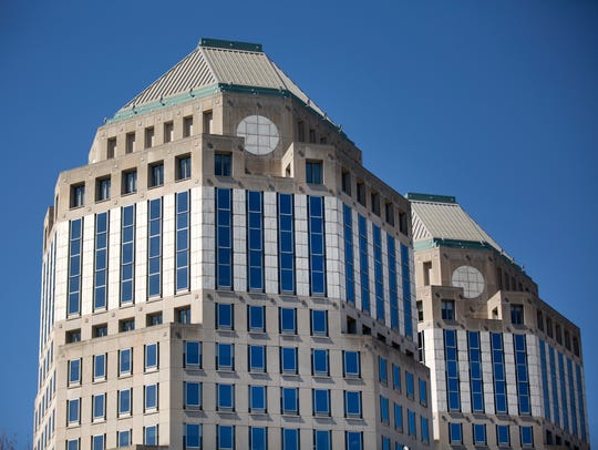 The headquarters of Procter and Gamble in downtown