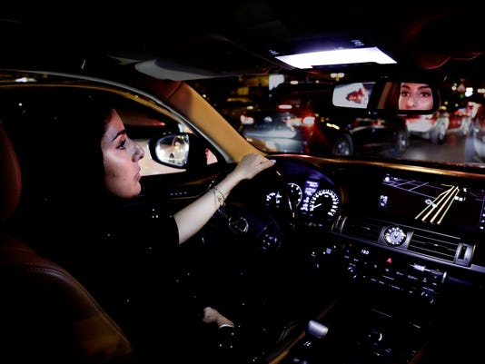 AP SAUDI WOMEN DRIVING I SAU