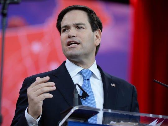 U.S. Sen. Marco Rubio of Florida