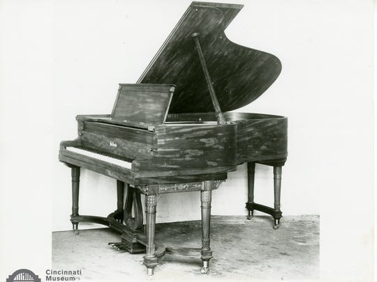 The Baldwin Grand Piano presented to the White House during the presidency of William Howard Taft, 1909
