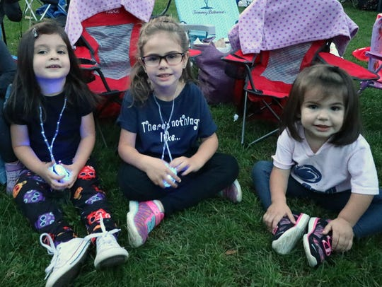 Samantha and Gianna, 6, and Brielle, 2, are in the