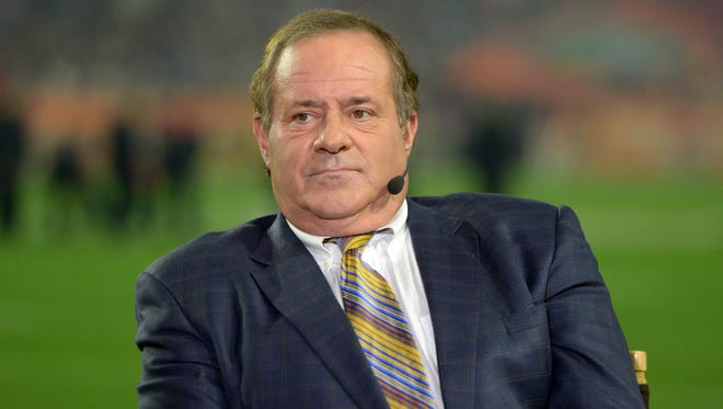 Chris Berman's booming baritone was synonymous with ESPN's rise as a network power.