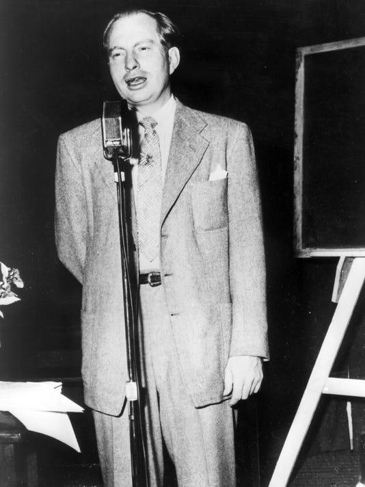 L. Ron Hubbard.