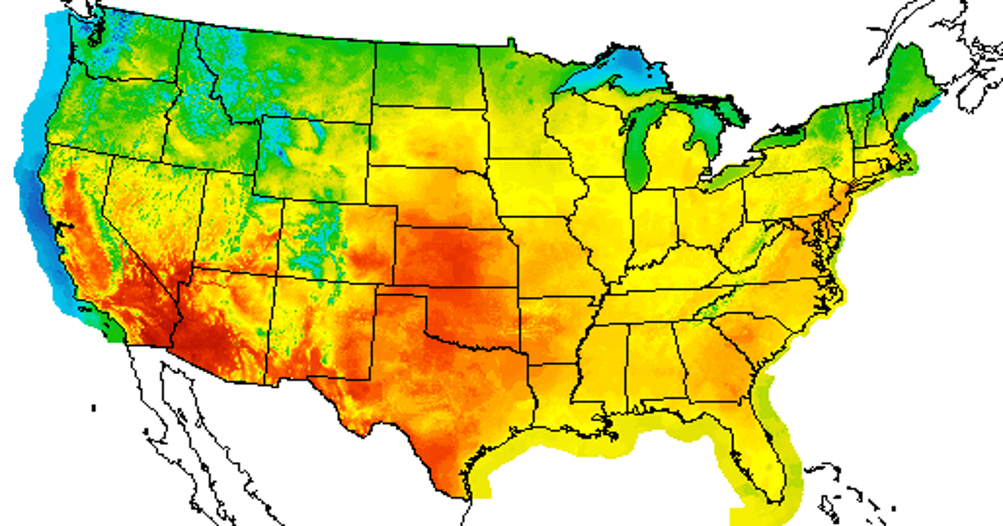 Americans In Almost Every State Are Sweating Right Now
