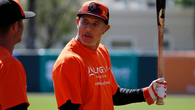 Orioles third baseman Manny Machado did not play in any exhibition games while recovering from knee surgery. He's been put on the disabled list, but could be cleared to play in minor league games very soon.