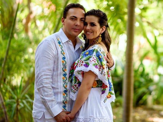 Cristian Castro y Carol Victoria.