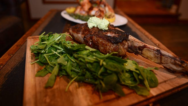 Tomahawk Steak, a featured item at Our Harvest, located in Fenwick Island. Monday, May 22, 2017.