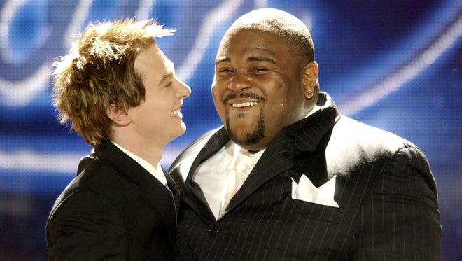 Ruben Studdard won Season 2 of 'American Idol' in 2003, beating Clay Aiken.
