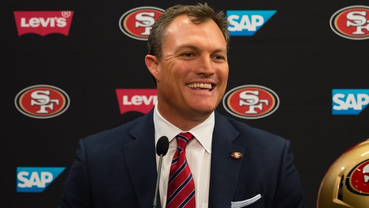 Next on new 49ers GM John Lynch's checklist: Scour country for his quarterback