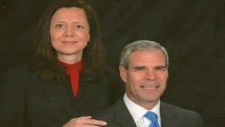 Ruth Ann Schlegel and Dr. John Schlegel.