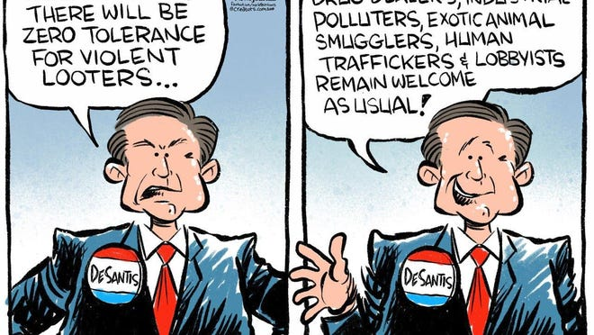 Andy Marlette editorial cartoonThumbnail 2020 06 03 Fla Zero Tolerance