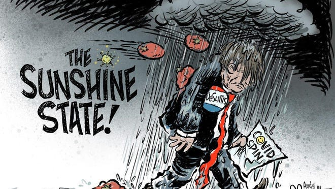 Andy Marlette, Pensacola News Journal