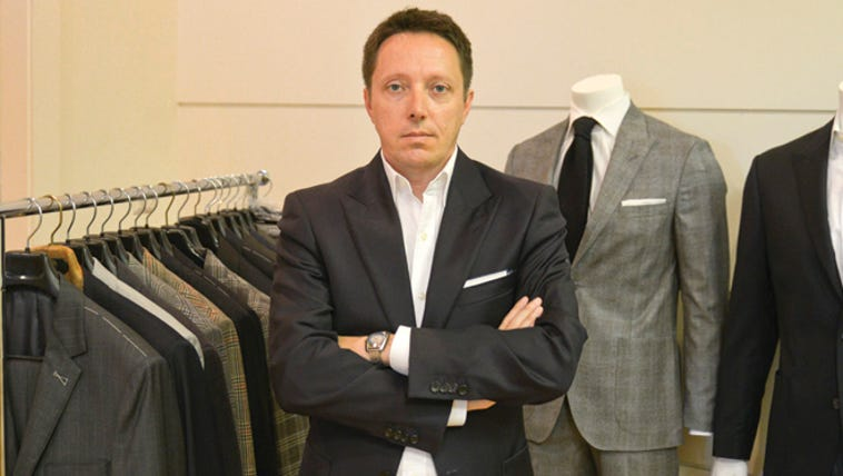 Jamie Davidson, executive officer of Strong Suit Clothing