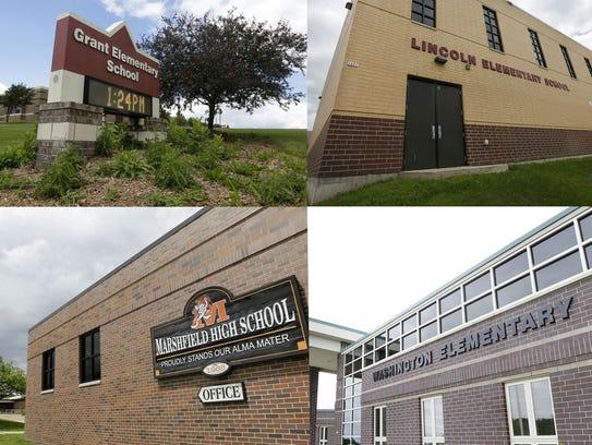 Marshfield School District schools