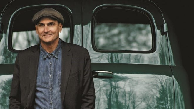 James Taylor will perform at Riverbend Music Center Friday, July 17.