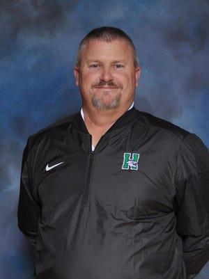 Harrison baseball coach and longtime teacher Shawn Sowders