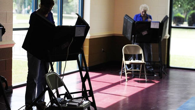 Two Democratic candidates for office voted in the Williamson County Republican primary.