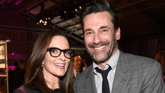 Tina Fey and Jon Hamm, together again.