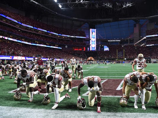 NCAA Football: Chick-fil-A Kickoff-Alabama vs Florida State