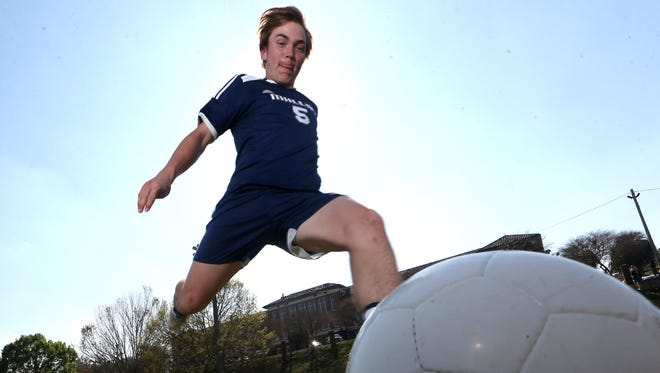 Maclay senior defender Lucas Briggs was the 2016-17 All-Big Bend Player of the Year for boys soccer after recording 14 goals and five assists from his center back spot during the Marauders' run to a 1A state title.