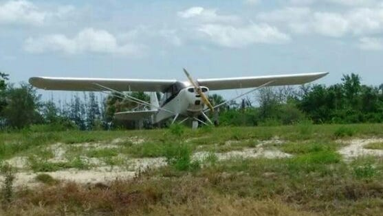 A plane made an emergency landing at Chain of Lakes park in Titusville Tuesday afternoon.