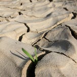 The world's human population is depleting the planet's aquifers.