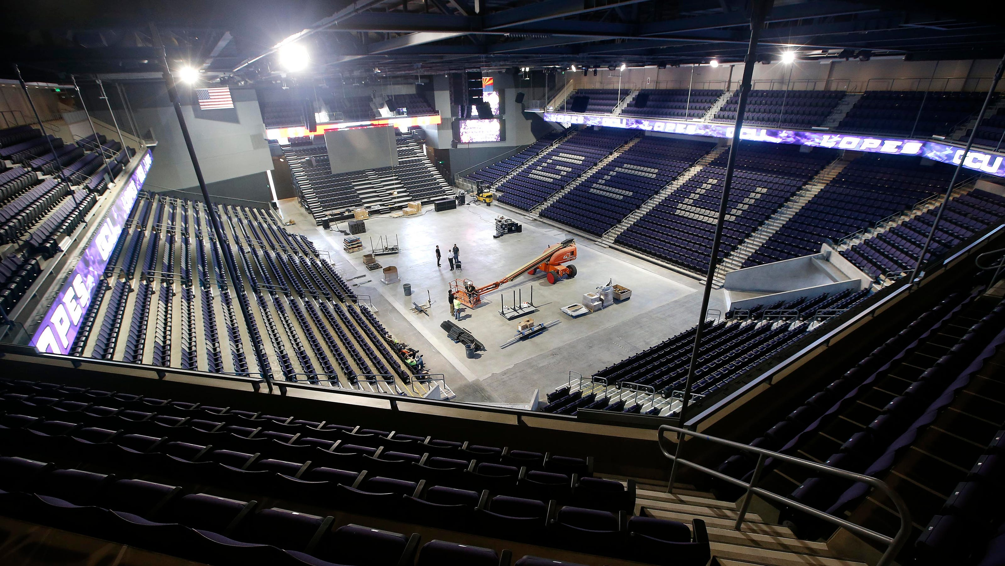 GCU Arena expands, opens ahead of schedule