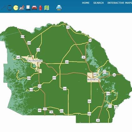 Citrus County Flood Maps