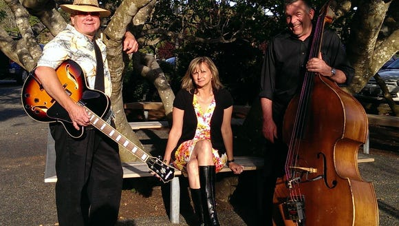 The Tammy Frost Trio are just one of the musical attractions