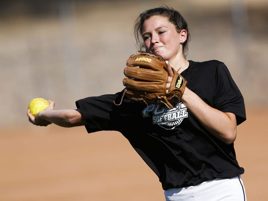 Phoenix Country Day's Audrey LeClair is hitting .708 with eight triples, five home runs, 10 doubles and 46 RBIs in 17 games