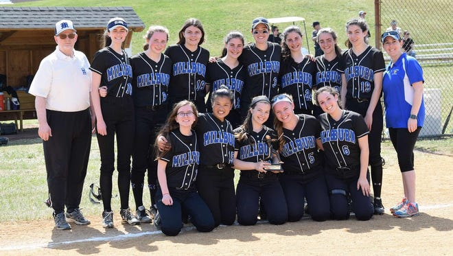 The Millburn softball team won the Wallkill Valley tournament.