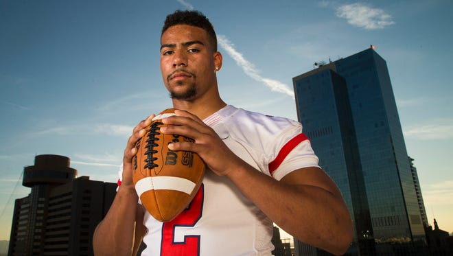 Centennial running back Dedrick Young the All-Arizona Division II Player of the Year.