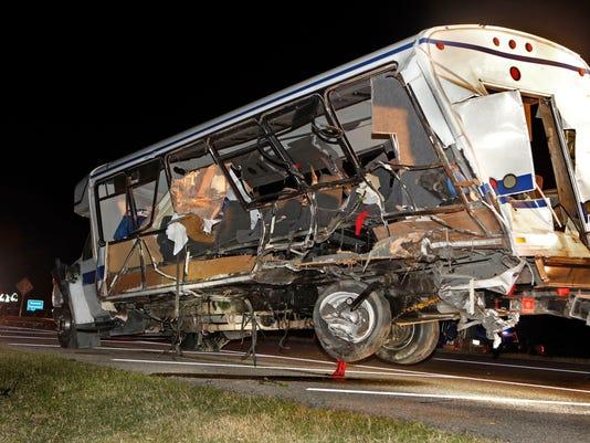 Oklahoma Softball Bus Crash
