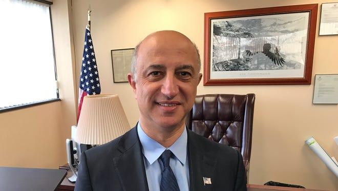 Montvale Mayor Michael Ghassali.