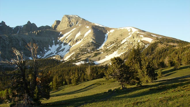 The road to Wheeler Peak will reopen Friday, Aug. 19, 2016, following a closure prompted by the Strawberry fire.