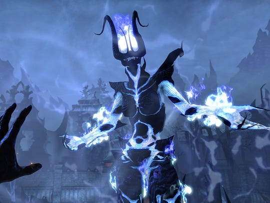 """Combat in """"The Elder Scrolls Online"""" can be done in either first-person or third-person view."""