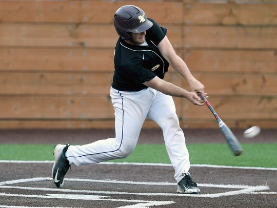 South Kitsap senior Alex Garcia led the Wolves with a .338 batting average this spring.