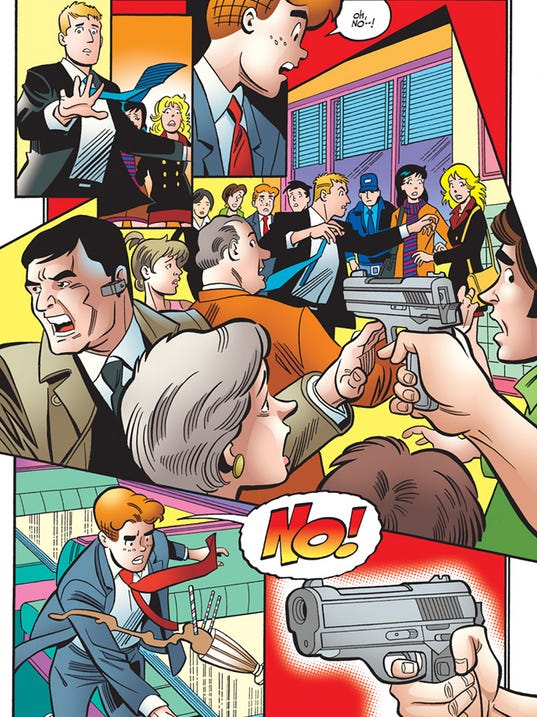 Life with Archie death page
