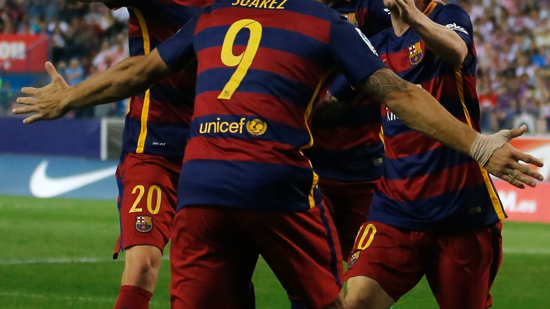 Barcelona leads spanish clubs 39 charge in champions league - Firefly barcelona ...