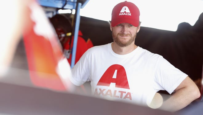 Dale Earnhardt, Jr., continues to recover from a concussion, which will cause him to miss Sunday's Pure Michigan 400 race at MIS.